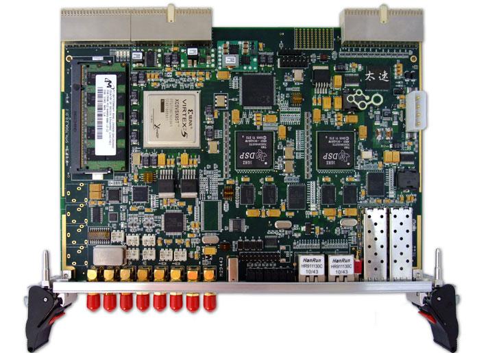 TMS320,C6455,XC5VSX95T,CPCI,无线通信处理,CPCI,软件无线电,基带信号处理,无线仿真平台,高速图像采集,高速图像处理,DSP,千兆网络接口,FPGA,V5,Xilinx,千兆网络传输,LWIP协议,雷达,图像数据采集,智能硬件