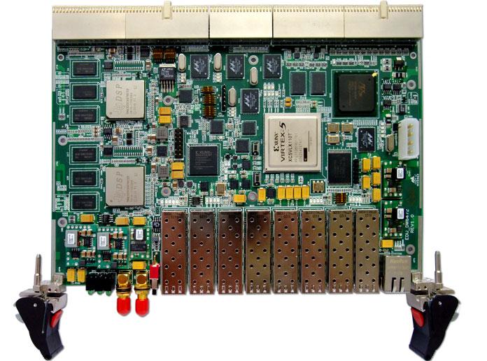 TI,DSP,TMS320C6678,xilinx公司FPGA,XC5VSX95T,CPCI信号处理板, SFP光纤 ,无线仿真平台, 高速图像采集,高速图像处理,光纤图像处理,8路光纤,热插拔电路,智能硬件