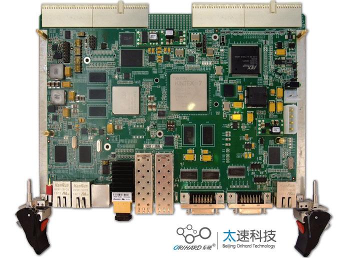 TMS320C6678 ,Xilinx,Kintex7 XC7K325T, Camera Link ,CPCI图像处理板, DSP,高速图像采集 ,高速图像处理,热插拔电路,机载图像处理,智能硬件