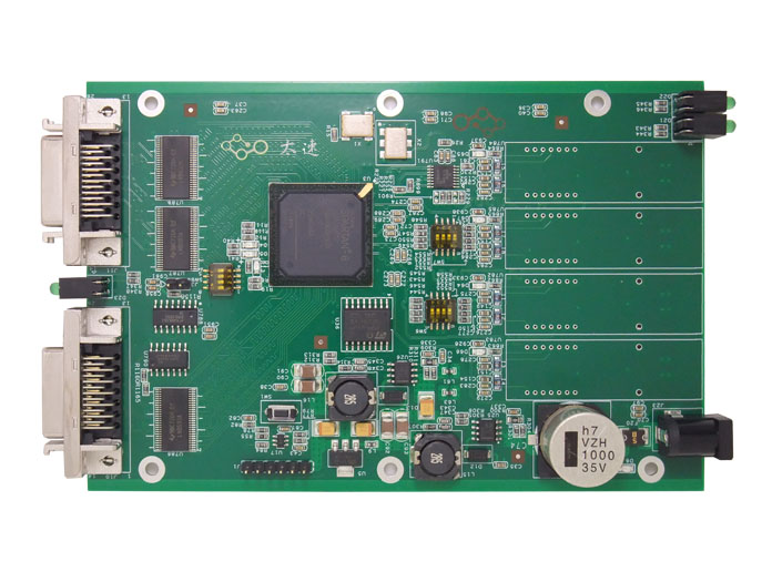 Camera Link输出, Spartan6系列芯片, Spartan6芯片,Camera Link转光纤,FPGA的结构,XC6SLX45T-1FF484I,Camera Link输出