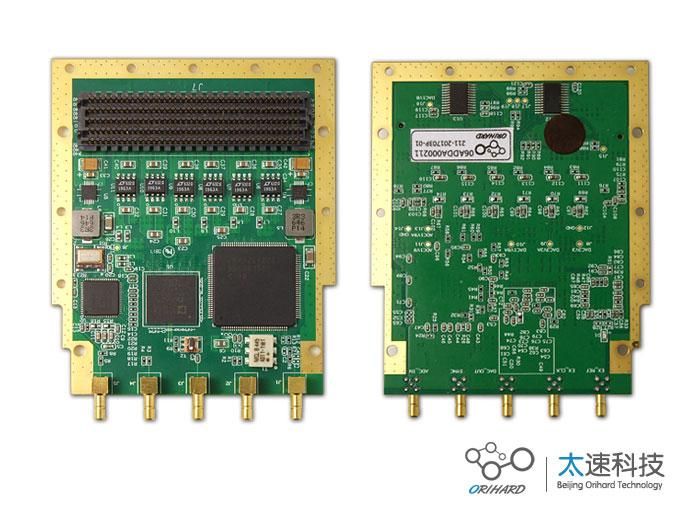 2路da,2路ad,模拟信号采集,雷达系统测试,sma连接,模数转换,数模转换