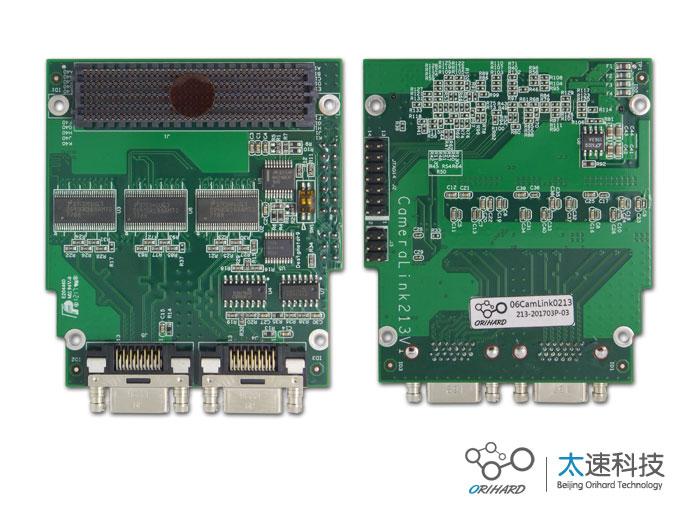 CamerLink子卡,视频信号检测,视频信号分析,板卡对接设备,FMC连接器,数字成像,图像分析测试,Full Camera link输入,HDMI输出