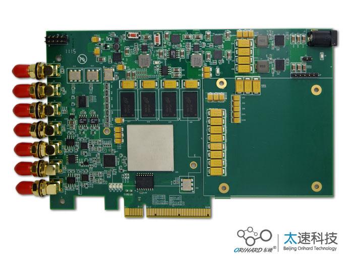 脉冲信号,AD采集,DSP处理平台,高速采集,实时信号,DSP实时信号处理,高速AD转换,XC7K160T-2FFG676I,TMS320C6748