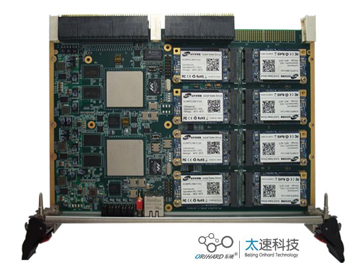 6U ,VPX架构,8TB,RAID,四路x4,6U VPX,两路 x4,NorFlash,LVDS互联