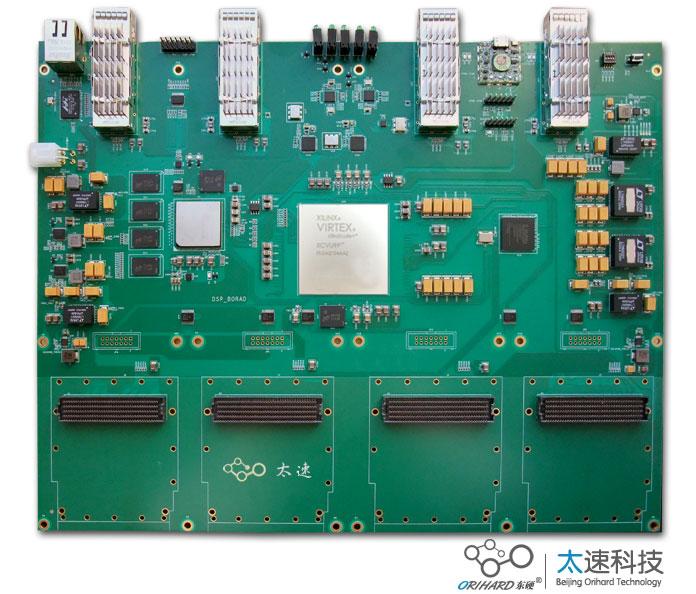高速数据采集,无线通信,XCVU9P, C6678, C6678光纤加速卡,XCVU9P光纤加速卡,40G光纤加速卡