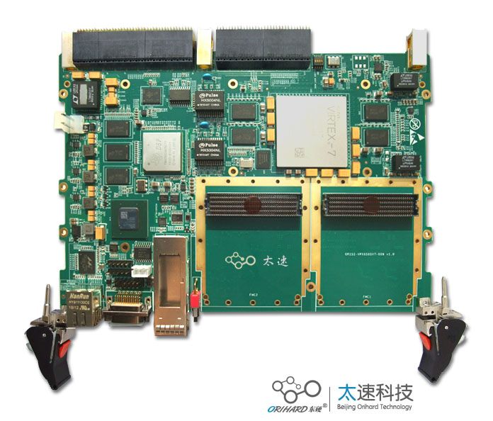 C6678,预处理板,高速数据采集,高速数据通信,前端信号预处理,XC7VX980T,FMC接口,高速串行收发器,CameraLink,相机图像采集卡,大分辨率图像处理,SFP光纤接口,三维立体成像,VPX,VPX板卡,VPX开发板,VPX技术,VPX总线