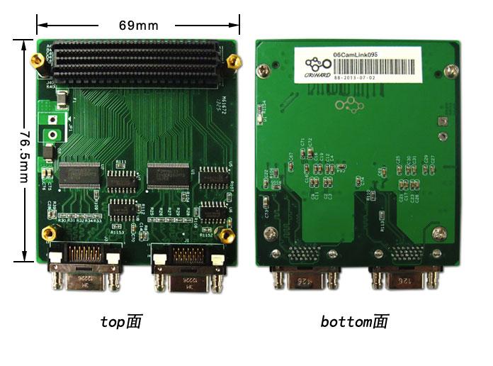 FMC接口,CameraLink模拟源,Base输出,2路输出,xilinx,视频信号检测,视频信号分析,BaseLine 输出,数字成像,图像分析,图像测试