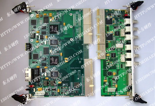 2、CPCI-DSP性能指标    1. 支持PICMG2.0 R3.0(CompactPCI核心规范)    2. 支持PICMG2.1(热插拔规范)    3.双DSP芯片 TMS320C6455,时钟主频1GHz,支持1.2GHz    4.内存总线独立, 为DDRMB    5 支持32MB-128MB Nor Flash    6.PCI接口支持Master和Slave,32bit/33MHz或者32bit/66MHz。    7.DSP总线EMIF分别连接于J4、J5,支持16bit、 32b